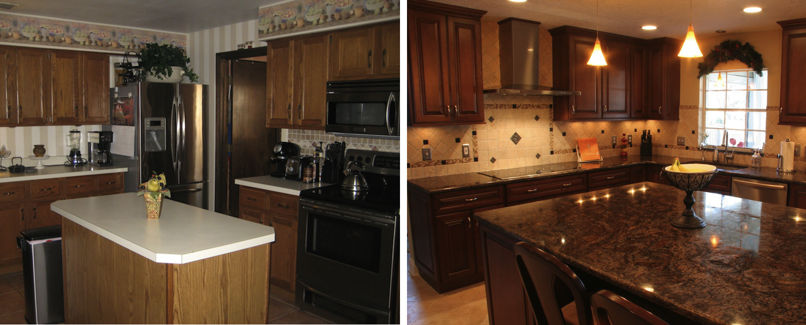Before And After Monarch Kitchen Bath Design - Kitchen before and after remodels